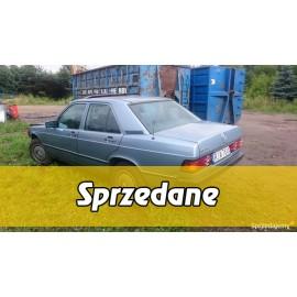 Mercedes 190E niebieska tapicerka AUTOMAT Oryginał 86r